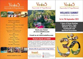 Veda5 Wellness Summit 2021, Rishikesh, India
