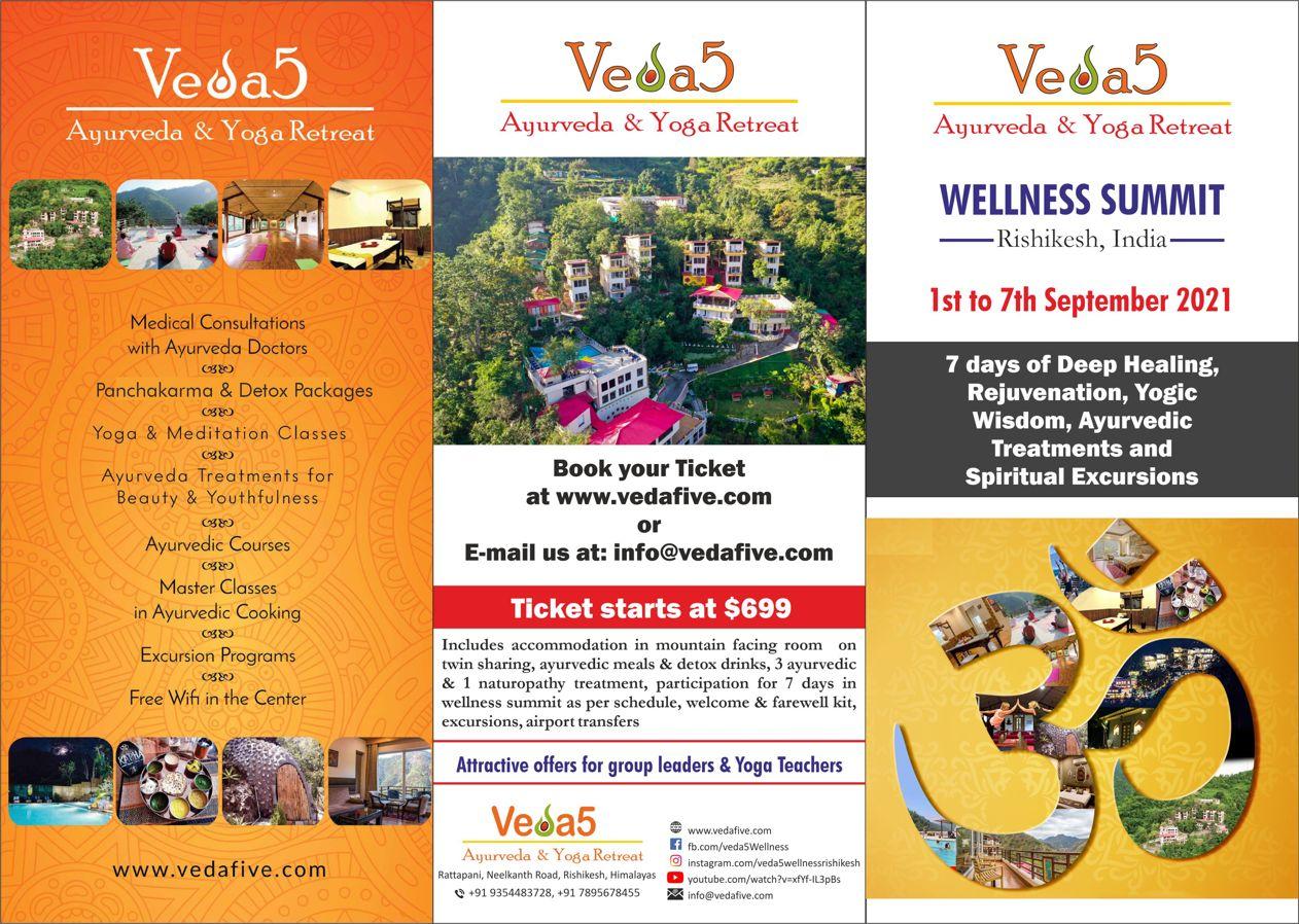 Rishikesh Ayurveda Naturopathy Yoga Spiritual Excursions Wellness Summit 2021 at Best Retreat in India