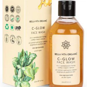 Bella Vita Organic Vitamin C Face Wash For Oily to Normal Skin women men 225ml Ayurveda Yoga World 1